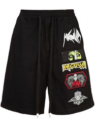 Haculla Mad Max Track Shorts Black