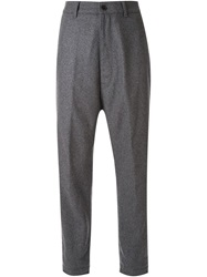 Golden Goose Deluxe Brand High Waisted Trousers Grey