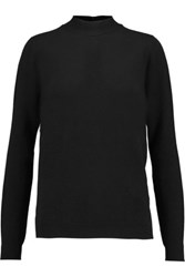 Pringle Of Scotland Tie Neck Cashmere Sweater Black