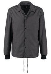 Solid Errling Summer Jacket Dark Grey