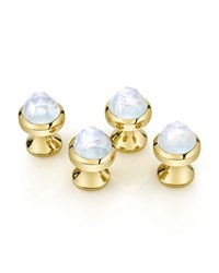 Rose Cut Moonstone Stud Set Suzanne Felsen Pink