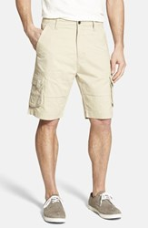 Men's Big And Tall Rodd And Gunn 'Flax Bay' Cargo Shorts Stone