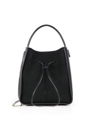 3.1 Phillip Lim Soleil Small Suede And Leather Hobo Bag