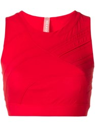 No Ka' Oi Cropped Tank Top Red