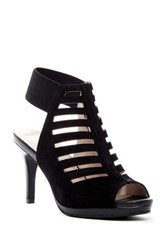Revolution Absolutely Not Ankle Strap Pump Black