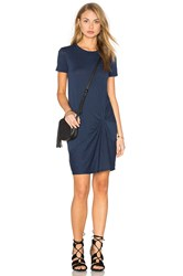 Stateside Knotted Mini Dress Navy