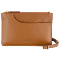 Radley Pockets Leather Small Across Body Bag Tan