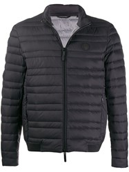 Armani Exchange Quilted Puffer Jacket Black