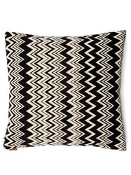Missoni Home Orvault Cushion Black White