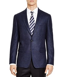 The Men's Store At Bloomingdale's Blue Houndstooth Slim Fit Sport Coat