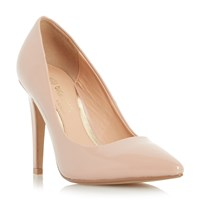 Head Over Heels Addyson Pointed Toe High Heel Court Shoes Nude