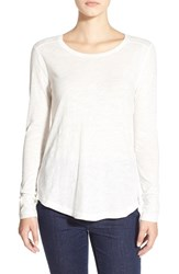 Women's Madewell Long Sleeve Slub Crewneck Tee