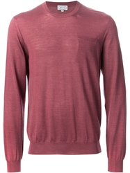 Faconnable Faconnable Crew Neck Sweater Pink And Purple