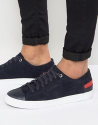 Tommy Hilfiger Jay Suede Trainers Navy