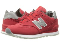 New Balance Wl574v1 Chinese Red Chinese Red Women's Running Shoes