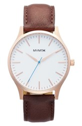 Mvmt The 40 Leather Strap Watch 40Mm Nordstrom Exclusive