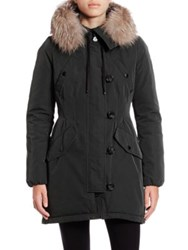 Moncler Aredhel Fur Trimmed Jacket Black