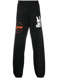 Off White Cartoon Embroidered Track Trousers 60