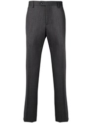 Salvatore Ferragamo Classic Tailored Trousers Grey