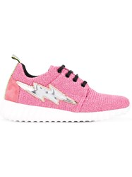 Leos Studio Design Running Sneakers Pink Purple