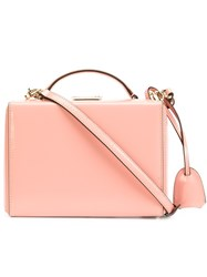Mark Cross 'Grace' Tote Bag Pink And Purple