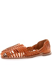 Alice And You Woven Strap Sandals Tan