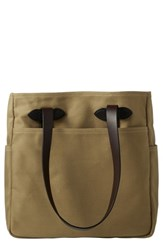 Filson Rugged Twill Tote Bag Brown Tan