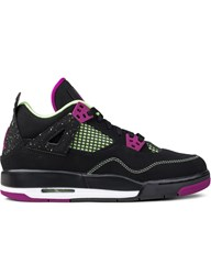 Jordan Brand Air 4 30Th Black Fuchsia Gs