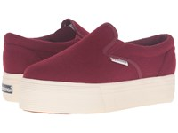 Superga 2314 Polywoolw Maroon Women's Lace Up Casual Shoes Red