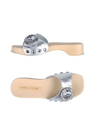 Marc Jacobs Mules Silver