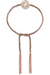 Carolina Bucci Cancer Lucky Zodiac 18 Karat Rose Gold