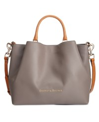 Dooney And Bourke Large Barlow Tote Taupe