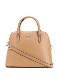 Dkny Large Whitney Dome Bag Neutrals