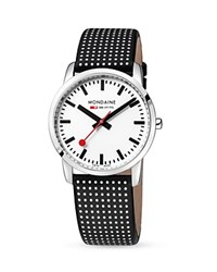 Mondaine Simply Elegant Watch 36Mm White