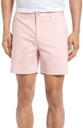 Bonobos Men's Stretch Chino 5 Inch Shorts Faded Flamingo