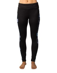 Jockey Motion Plaid Fleece Ankle Leggings Blue