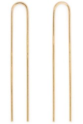 Jennifer Fisher Clean Gold Plated Hair Slides One Size