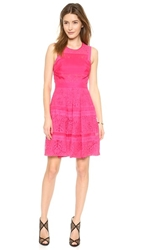 Rebecca Taylor Lace Dress Hot Pink