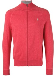 Polo Ralph Lauren Zip Up Hoodie Pink Purple