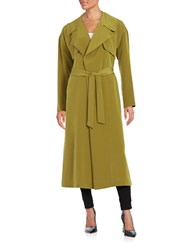 Highline Collective Open Front Lightweight Trench Topper Sage