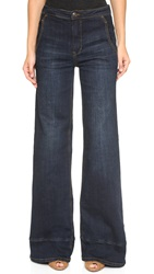 Free People High Waisted Bell Bottom Jeans Bewick