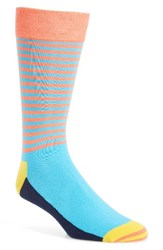 Happy Socks Men's Half Stripe