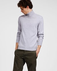 Aspesi Wool Yak Cashmere Sweater Perl Grey