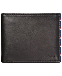 Tommy Hilfiger Dwayne Double Billfold Wallet Black