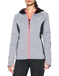 Under Armour Long Sleeve Zippered Hoodie Stealth Gray