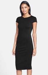 Petite Women's Felicity And Coco Seamed Pencil Dress Black