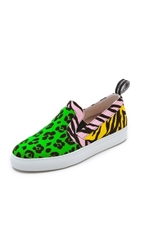 Moschino Cheap And Chic Slip On Sneakers Multi