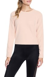 Maaji Cinch Blush Sweatshirt Light Pink