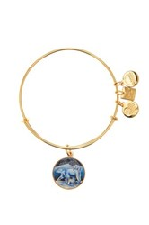 Alex And Ani Polar Bears Expandable Wire Bangle Pink