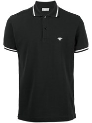 Christian Dior Homme Classic Polo Shirt Black
